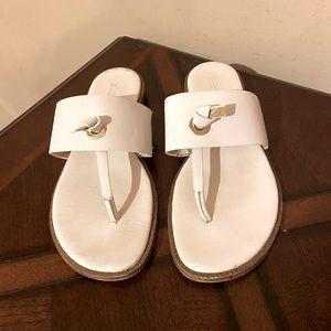 MK Michael Kors White Sandals